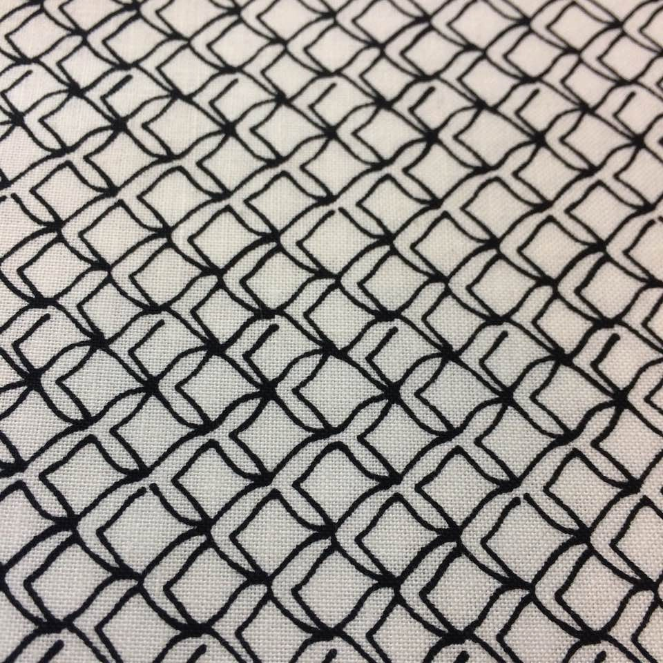 Maywood Studio Fishline Fish Net In White Quilting Cotton