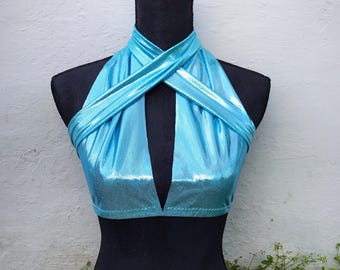 Infinity Top in Light Blue