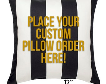 Design Your Own Pillow Cover, 20x20 Pillow Covers, Custom Pillow Cover, Personalized Pillow, Home Decor, Throw Pillow, Decorative Pillow