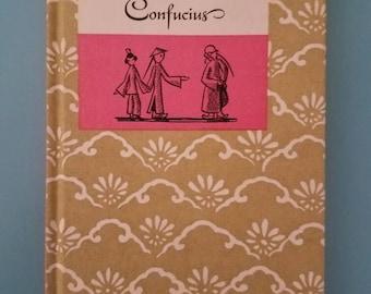 The Wisdom of Confucius Vintage Peter Pauper Press 1960s