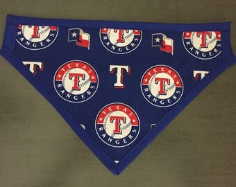Texas Rangers Dog Scarf