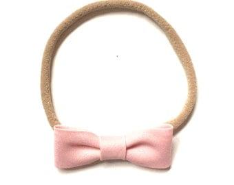 Itty Bitty Headband || Light pink