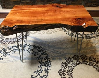 Gorgeous Live Edge Maple Burl Coffee table