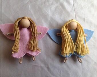 Bendy fairy pocket doll