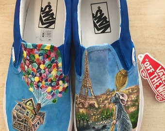 Disney Pixar inspired Toms or Vans