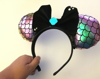 Mermaid Minnie Ears