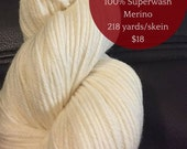 D10 Worsted ALL COLORS