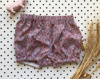 Baby Girl Bloomers Cotton ~ Mini Rose