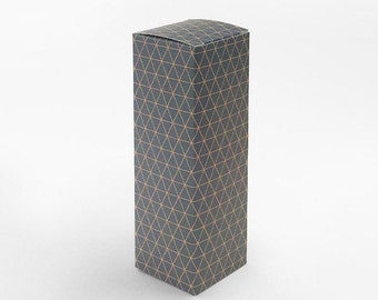 5 small narrow boxes,geo pattern box,candle box,gift box,tall boxes,narrow gift box,gray gift box,stick boxes,pattern gift box,cute gift box