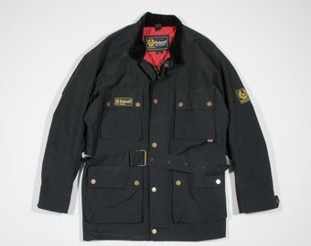 BELSTAFF INTERNATIONAL - Nylon jacket