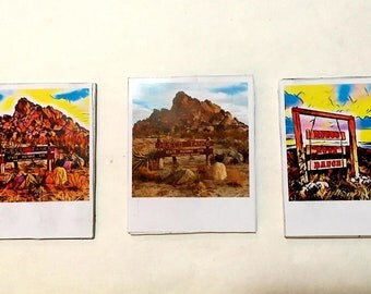Hueco Tanks Mini Polaroid Magnets