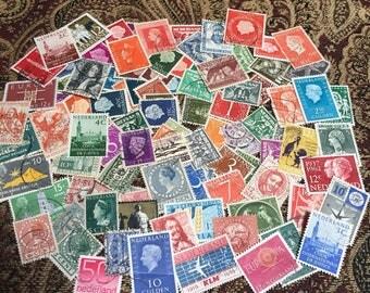 108 Netherlands Stamps Dutch Stamps