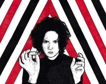 Print: The White Stripes Fan Art
