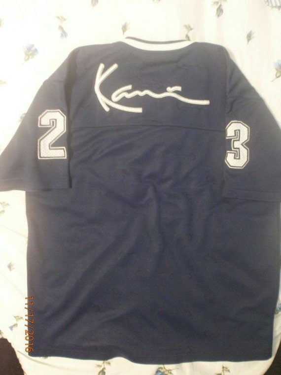 354490697625b free shipping KARL KANI jersey vintage hiphop t-shirt of 90s by  90shiphopfashion