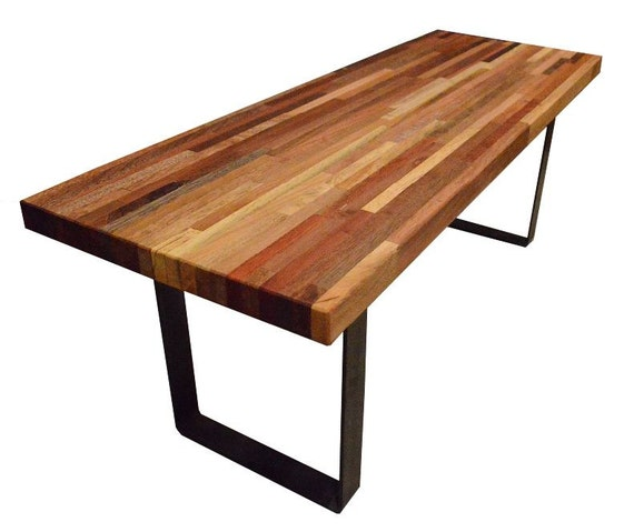 Reclaimed narrow wood coffee table for Narrow wood coffee table