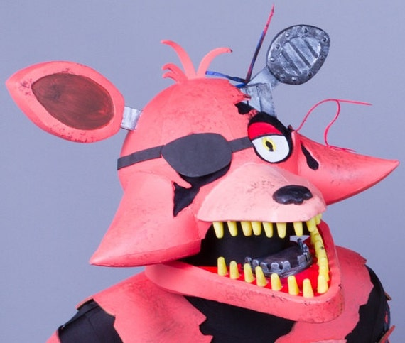 Withered Foxy Head Cosplay Five Nights At Freddy's 2
