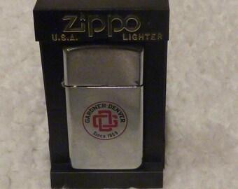 Gardner Denver Advertising Zippo - Slim