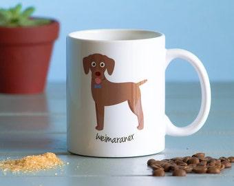 Weimaraner Mug (boy)