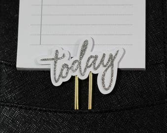 Today Slim Glitter Paper Clip