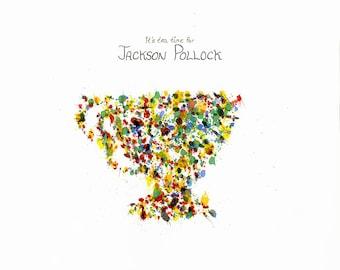 Teacup Tuesday: It's Tea Time for Jackson Pollock
