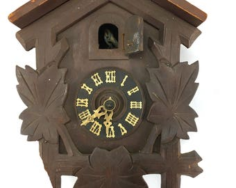 Cuckoo clock (spares or repair only)