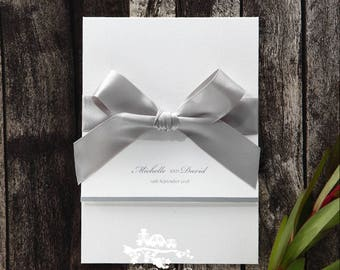 Wedding Invitation | Custom invitations | Unique invitations | Wedding stationery | Elegant invites - Marital Harmony