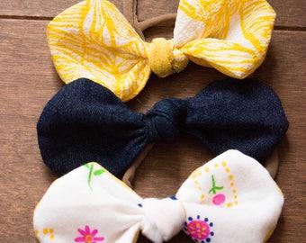 Headband trio. Minnie. Mini headband