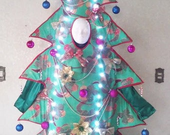 Christmas Tree Stilt Costume
