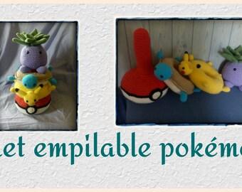 Toy stacking POKEMON tutorial