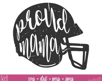 2 Proud Mama svgs - Football Mom svg - Football Helmet svg - Football Mom Shirt Design - Football svg - High School Football