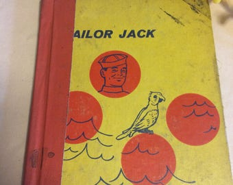 Vintage Books, Sailor Jack,Children's Library Book 1960's Vintage Books, Home and Living.Children Books,Collectibles.