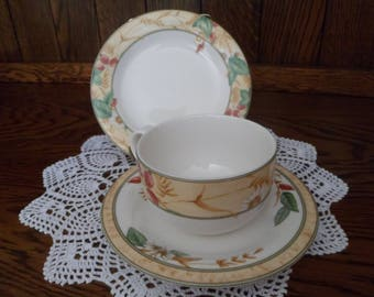 Royal Doulton Expressions Edenfield Tea Cup Trio