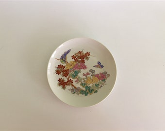 Plate, Side Plate, Japan, Cherry Blossom, Butterfly