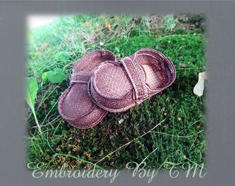 Baby boy Loafer booties (nub.16)-FSL-5x7 hoop