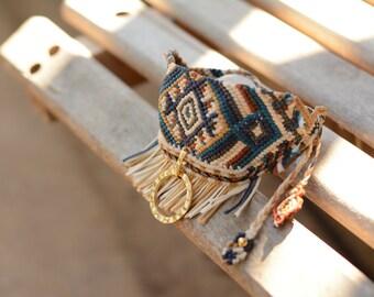 Handmade Ethnic- Boho&Tribal Macrame bracelet