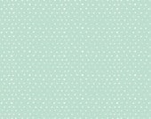 Hearts in Mint ~ Hearts Collection by Wee Gallery for Dear Stella Fabric ~ Weave & Woven
