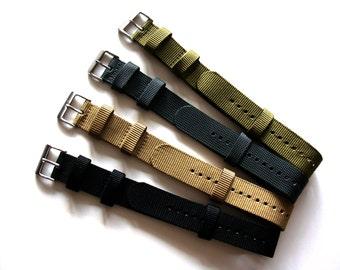 NATO G10 ® Commando Ballistic Nylon Watchband Military watchband watchstrap NATO Strap natoband
