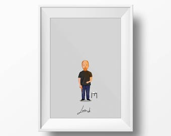 Louis C.K. - Comedy Poster