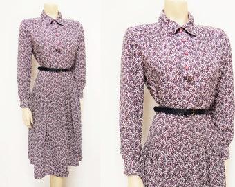 Vintage Dress, UK14, 1970s, Boho Dress, Boho, Hippie, Paisley Dress, Long Dress, Festival Dress, Dress, Vintage Dresses, Clothing
