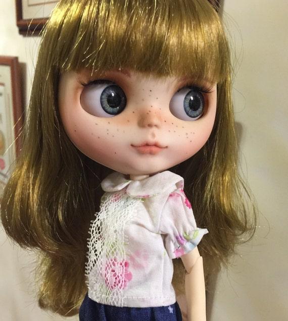 Fargo ooak custom factory blythe doll for Blythe le jardin