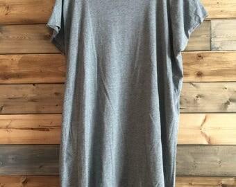 Gray Long Tunic
