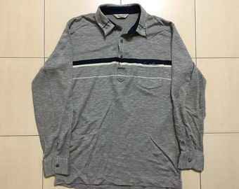Vintage 90's Cornold Palmer Sport Classic Design Skate Sweat Shirt Sweater Varsity Jacket Size L #A508