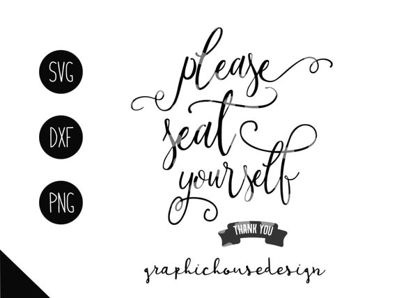 Bathroom svg home svg seat yourself svg cutting file decal for Bathroom quotes svg