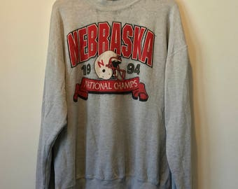 1994 Nebraska National Champs Sweater