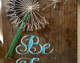Be free dandelion