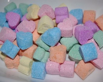 Sweetheats Heart Bath Bombs - Mini Rainbow Heart Bath Bombs - Candy Bathbomb - Kids Party Favors - Mini Bath Bomb - Summer Party Bath Bombs