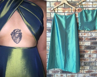 RAD 90s FORMAL / PROM two piece set / dress