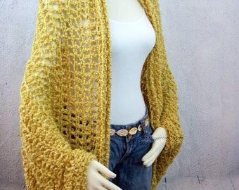 Over Sized Shrug Crochet Pattern Easy Crochet Pattern Crochet Patterns For Beginners Cocoon Shrug Poncho Pattern Ruana Blanket Shawl