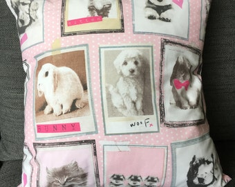 Pets Cushion covers for Children from 0-99+, sale , kittens, puppies, bunnies
