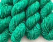 Brilliant Blue-Green - BFL 4 Ply Mini